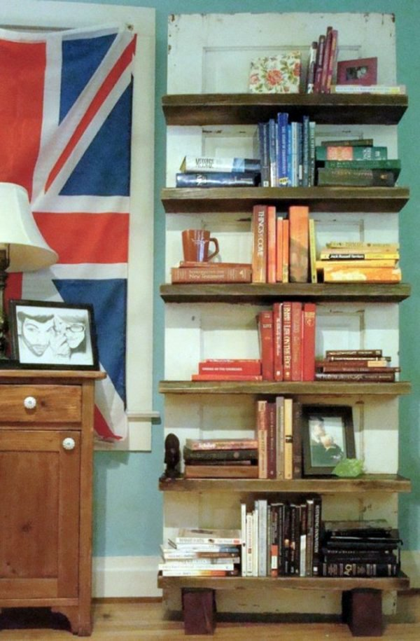 Bastelideen - Old doors re-use - cool decoration and DIY furniture