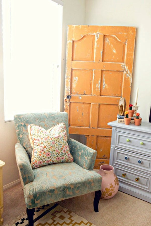 DIY Möbel - Old doors re-use - cool decoration and DIY furniture