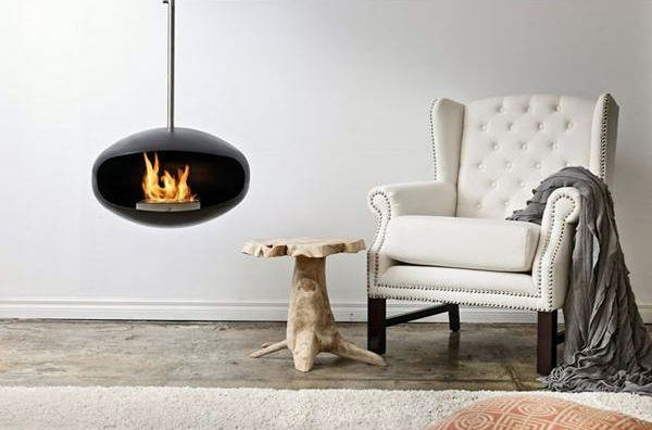hanging stove modern luxury fireplaces 0 884