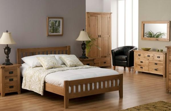 Wood furniture for a beautiful bedroom design | Interior Design Ideas |  AVSO.ORG