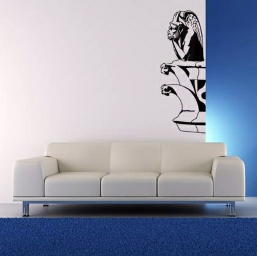 Wall Decoration with Wall Decal - 70 beautiful ideas and designs