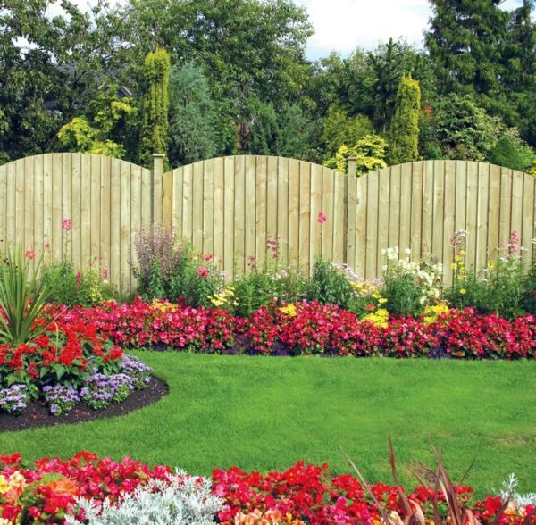 Garden Fence And Garden Borders Ideas Useful And Beautiful