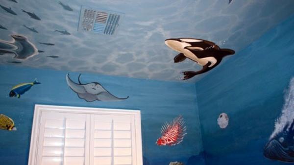 Wall Painting Kids Great Interior Ideas Interior