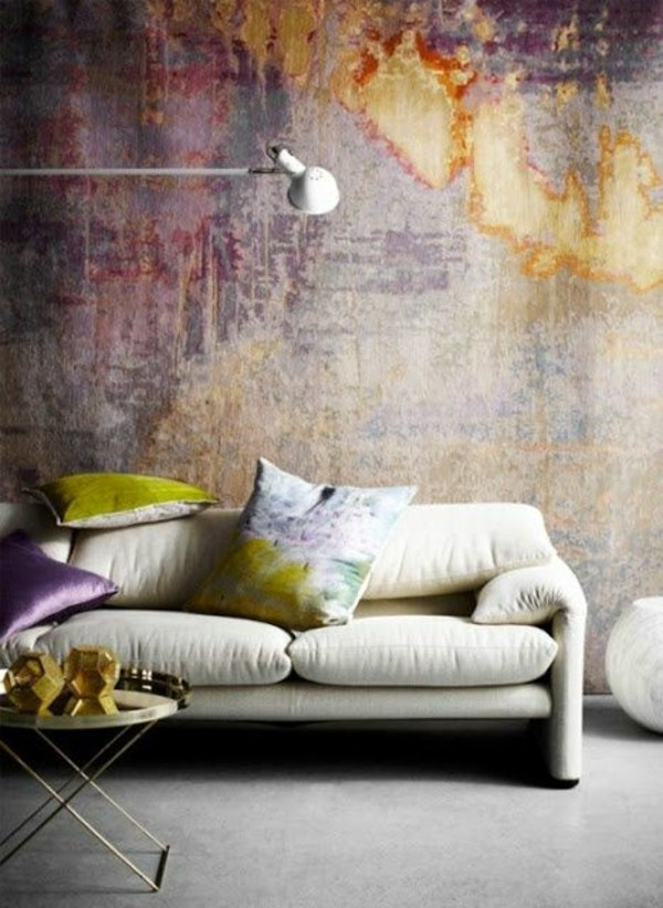 Painting walls – 35 interior design ideas for amazing wall ...