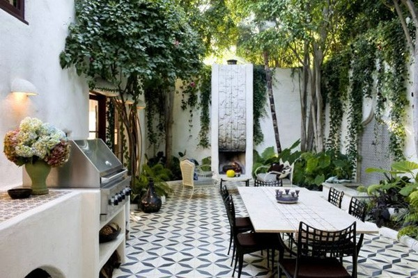 Esstisch mit Stühlen - Attractive Ideas for a cozy and beautiful dining area in the garden