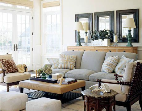 Decorating Inspiration for the family room | Interior Design ...