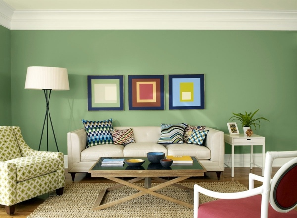 Color ideas for living room – lively atmosphere in every ...