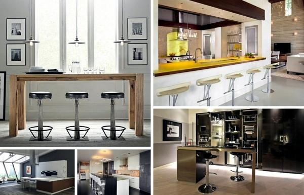 Küche - 12 innovative kitchen bar designs for modern kitchen facilities