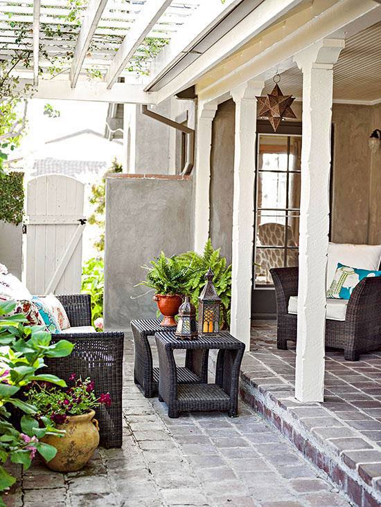 Möbel - Terrace design ideas - 16 creative designs for the porch
