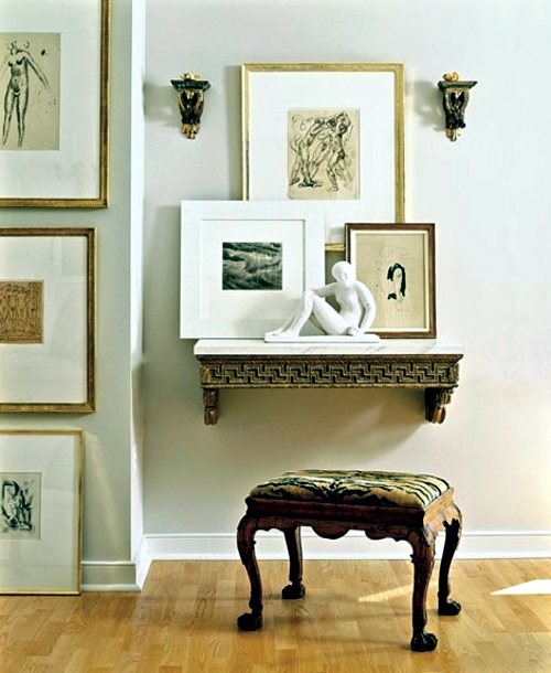 29 artistic wall design ideas - wall decoration with pictures