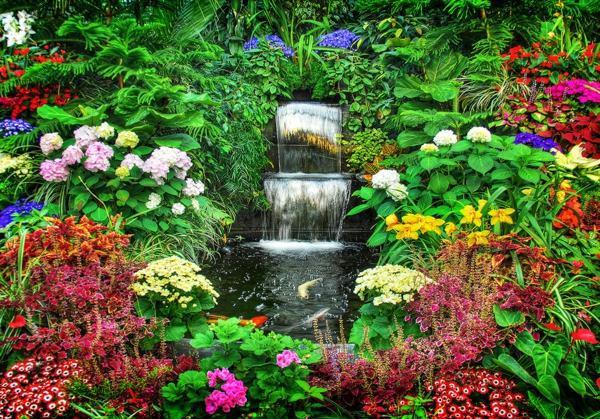 Garten & Pflanzen - 60 beautiful garden ideas - garden pictures for garden decorations