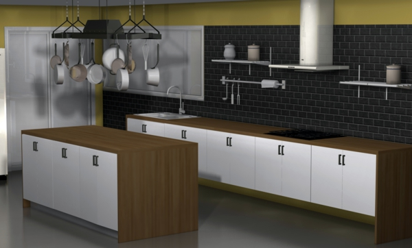 Kitchen Wall Tiles The Rear Wall Plays An Important Role In The Kitchen Interior Design Ideas Avso Org
