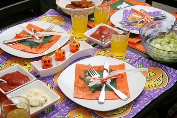 DIY Deko - Table decoration crafts - Halloween decoration do it yourself