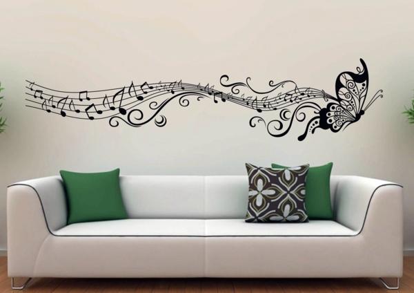 Wandtattoo - Modern Wall Decal - wall design trends 2014